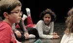 Taller con los niños en La Danza de la Vida